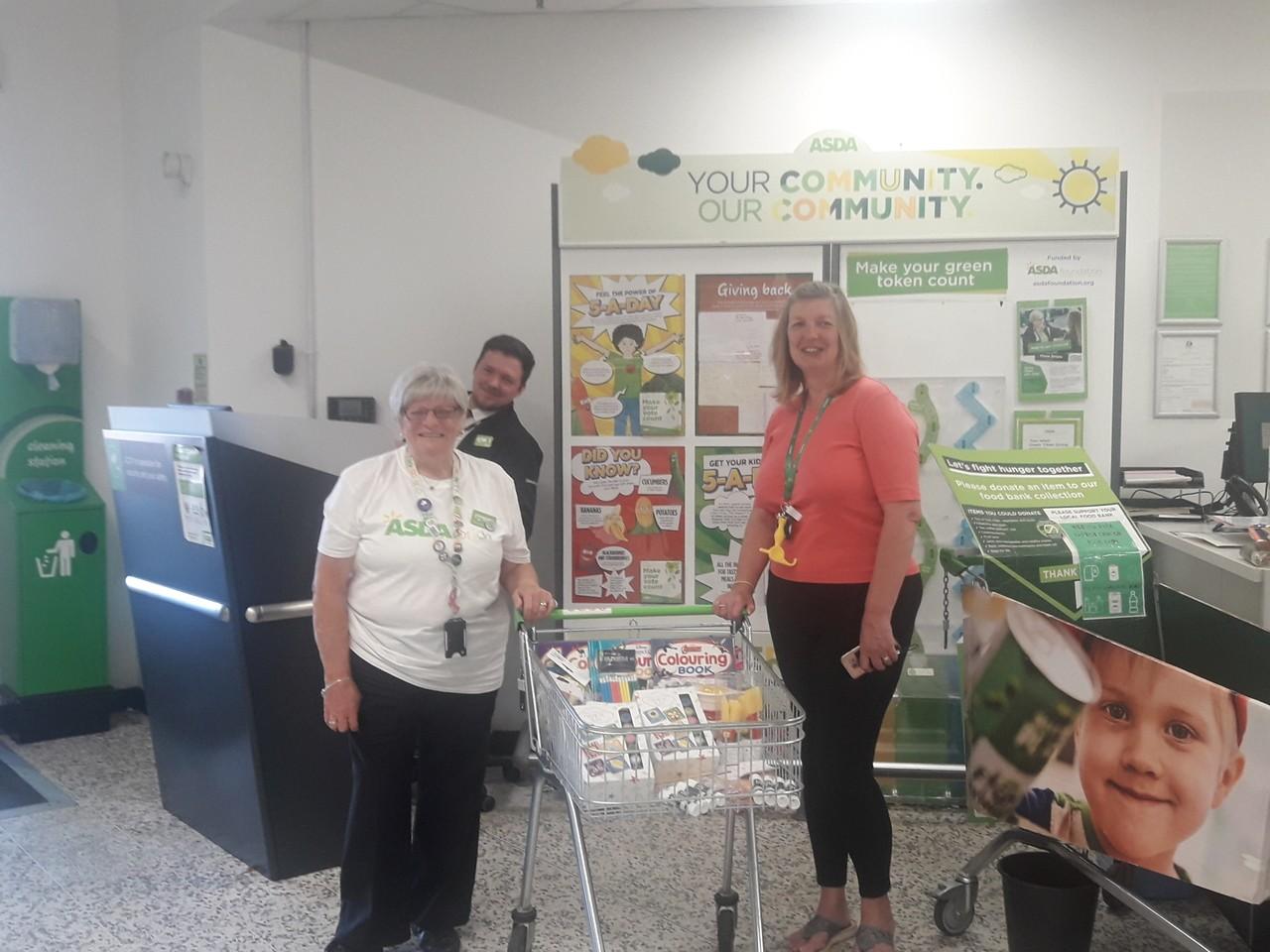 School donation | Asda Bedminster