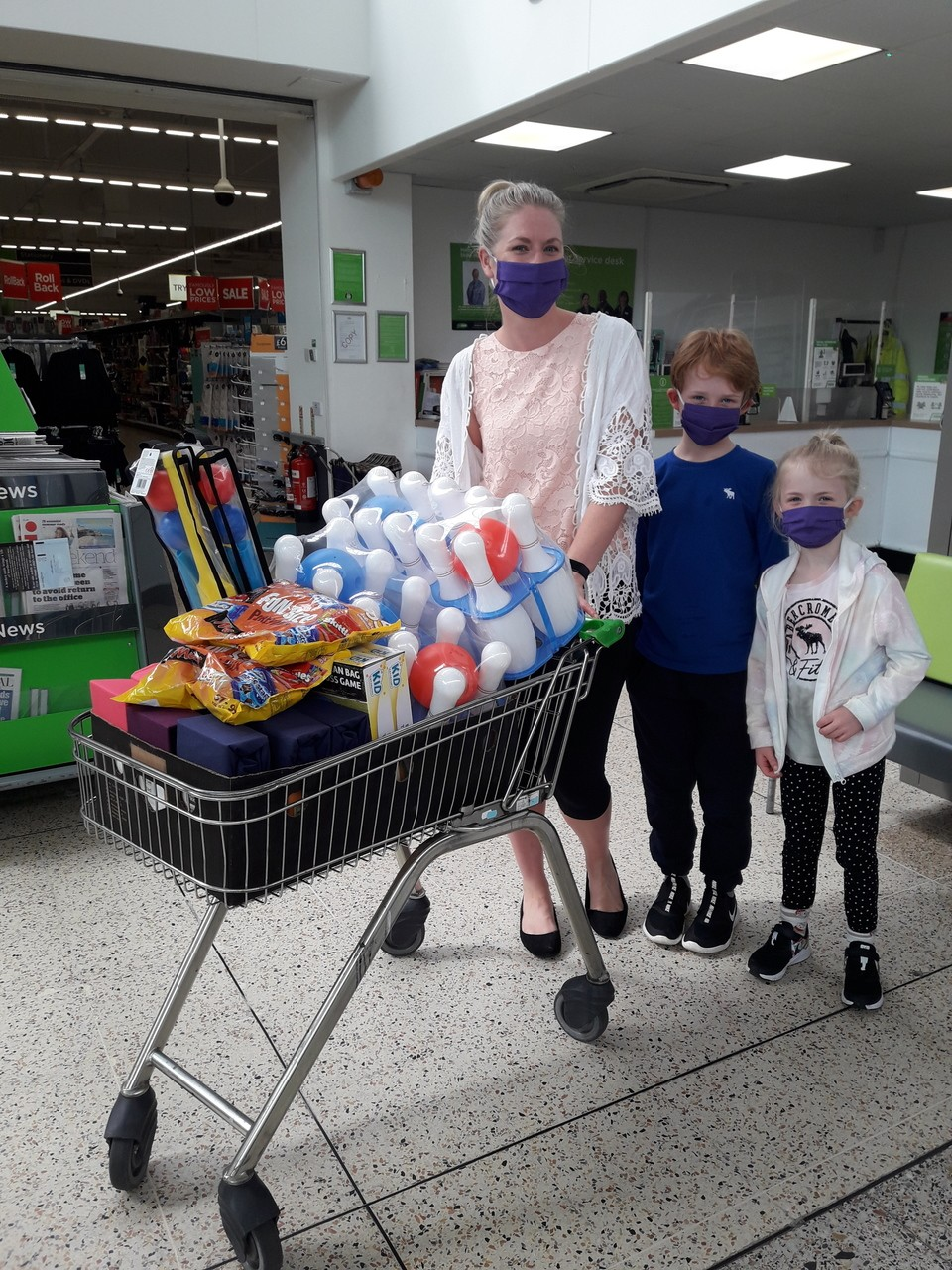 Donation to The Club @Kinellar and Midmill | Asda Dyce