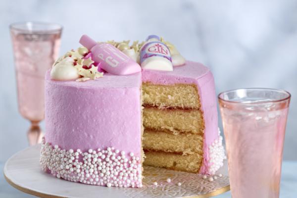 Asda Pink Gin Celebration Cake