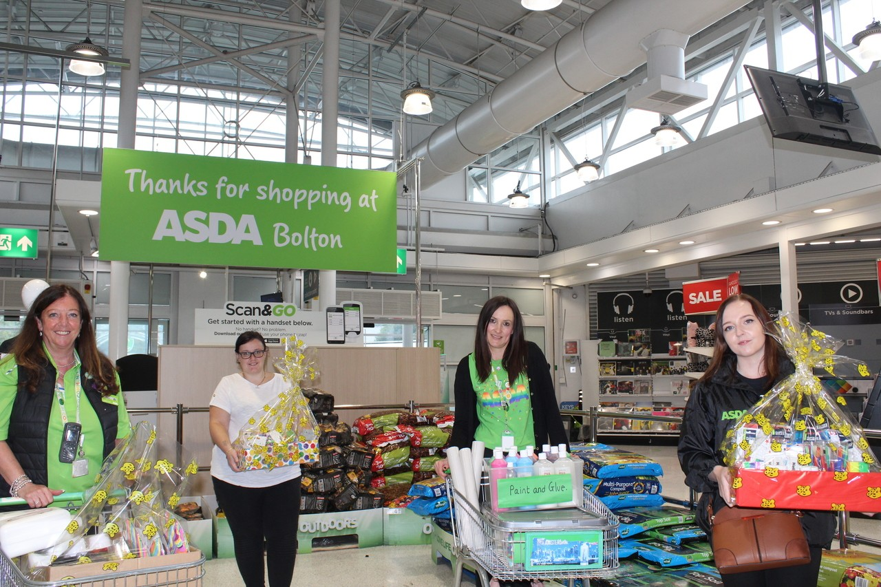 Bolton, Burnden Park and Farnworth stores donate art packs to the Messy Church | Asda Bolton
