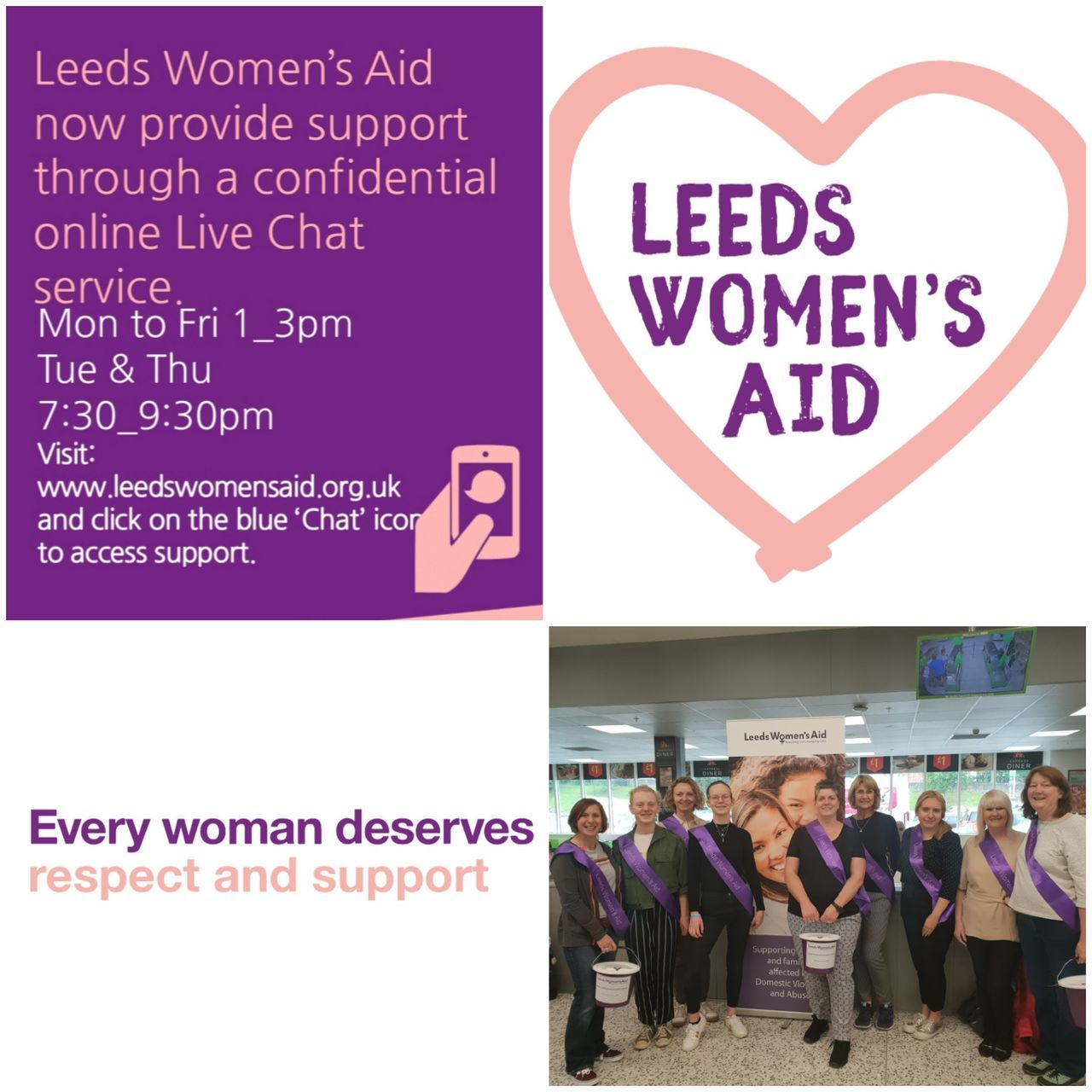 Leeds Women's Aid support | Asda Killingbeck