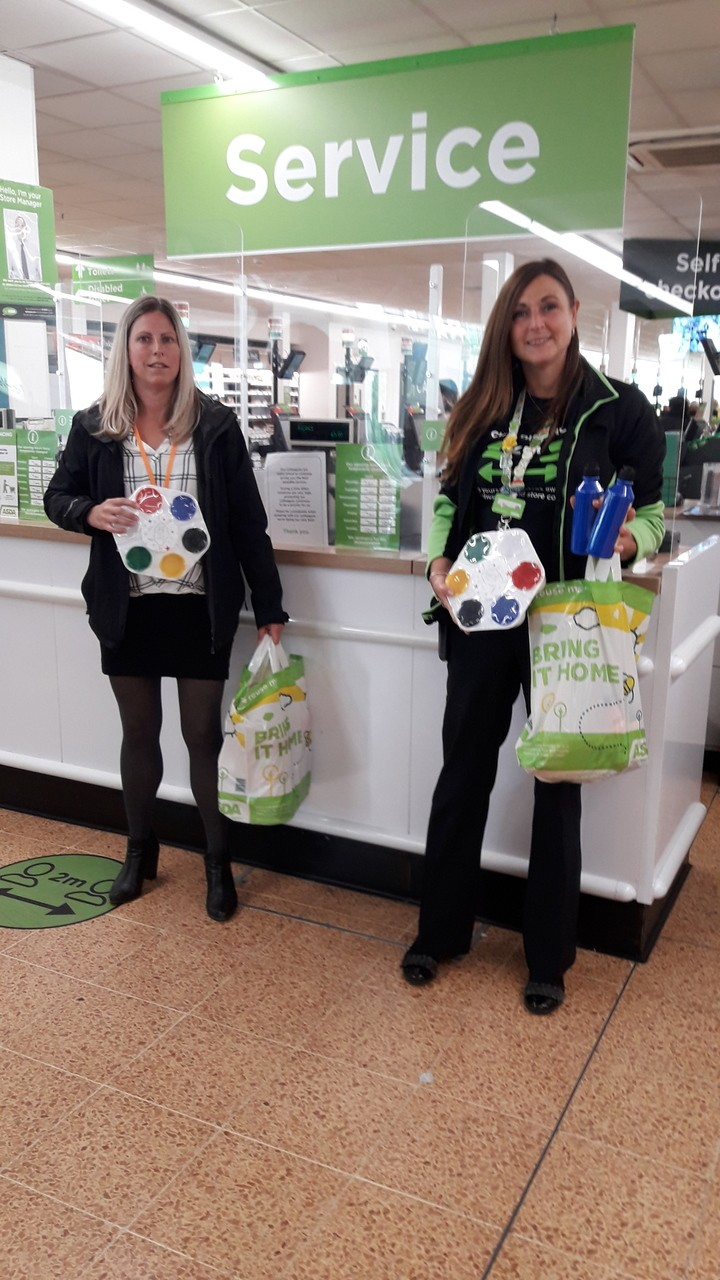 Donation for Southern Brooks Community Partnerships | Asda Longwell Green