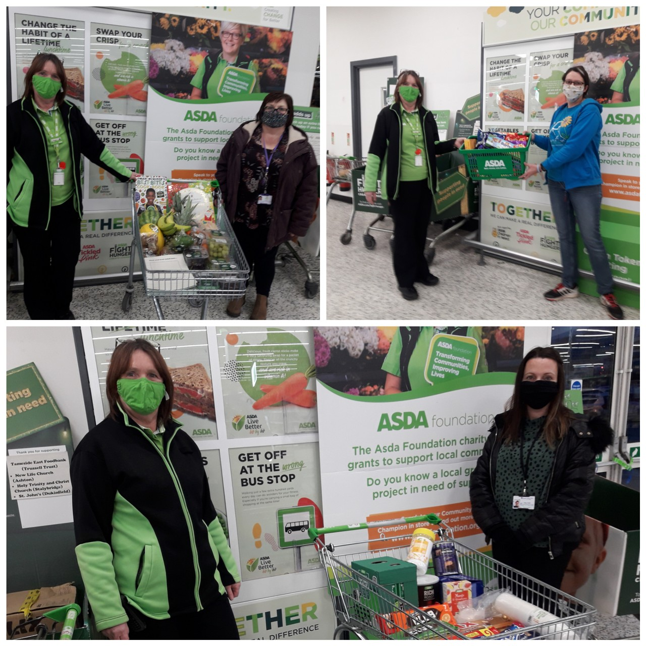 Supporting our community | Asda Ashton