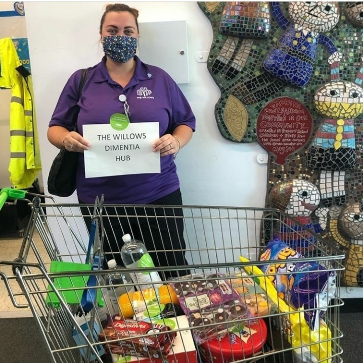 Donation to the Willows Dementia Hub in Rochdale | Asda Shaw