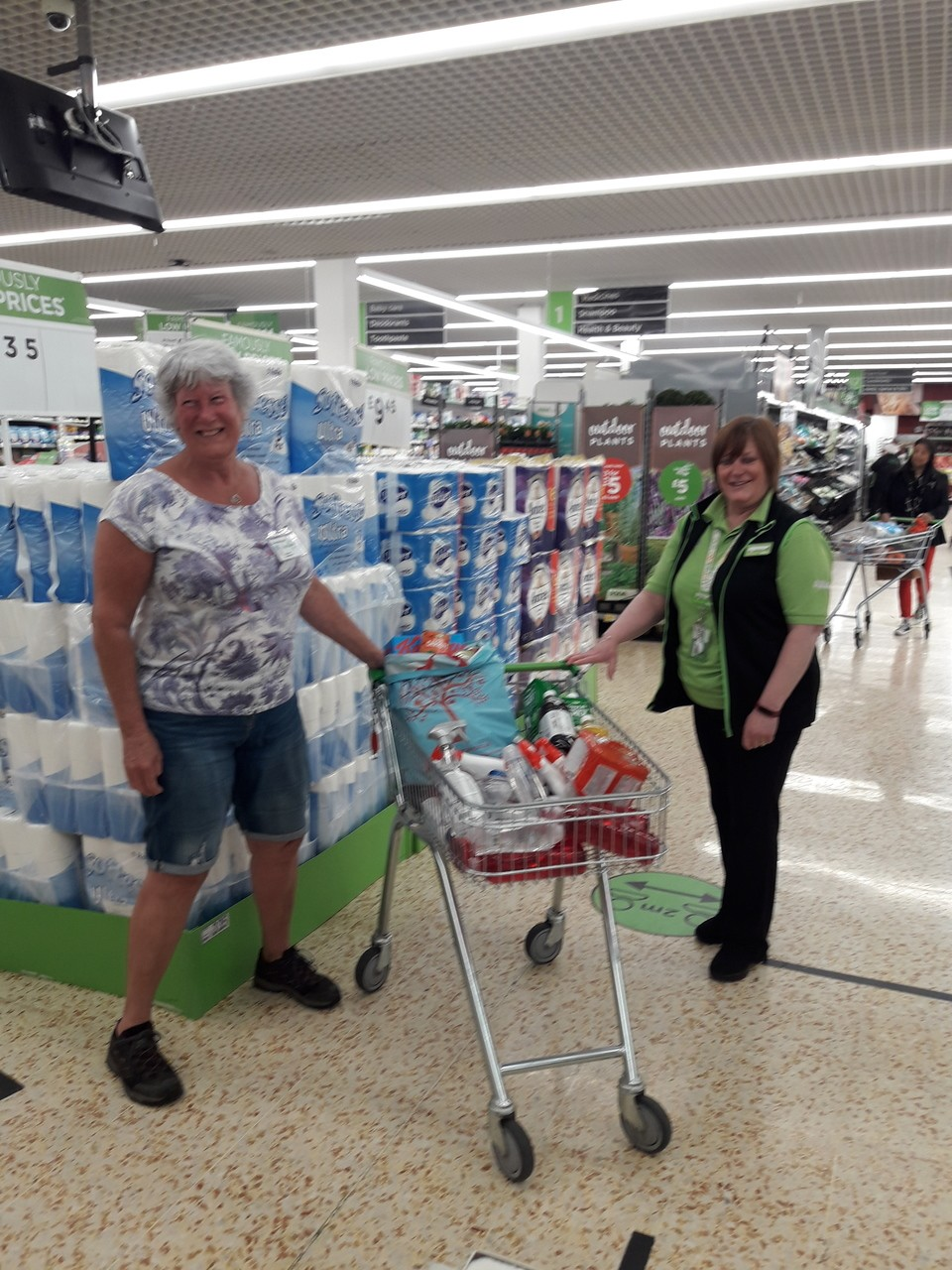 Helping Cramlington Foodbank | Asda Cramlington