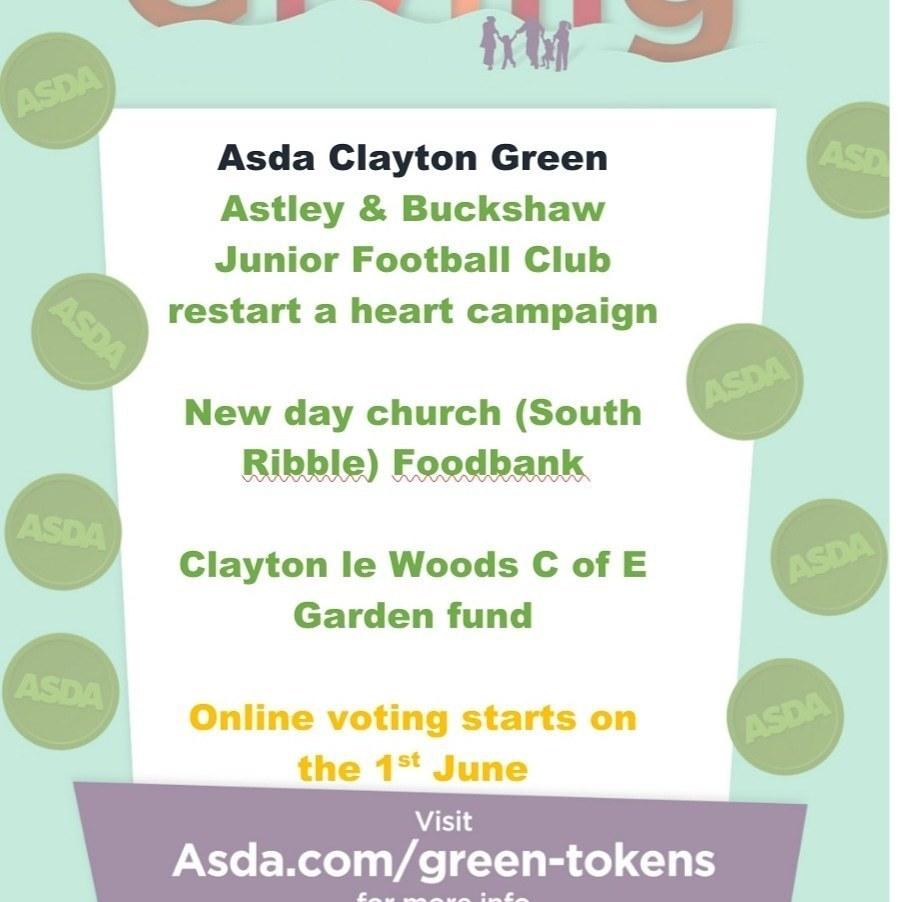 Green Token Giving is back | Asda Clayton Green