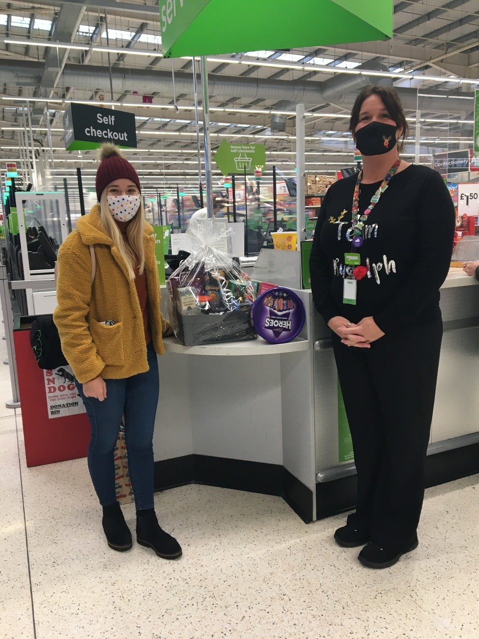 Donation of a Raffle Prize for Orchid Vale Care Home | Asda Swindon Haydon