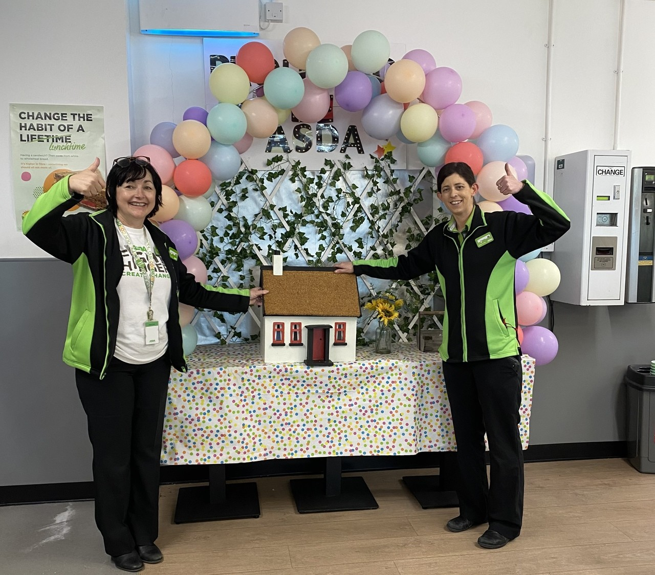 Colleague Raffle in Aid of Tickled Pink | Asda Cookstown