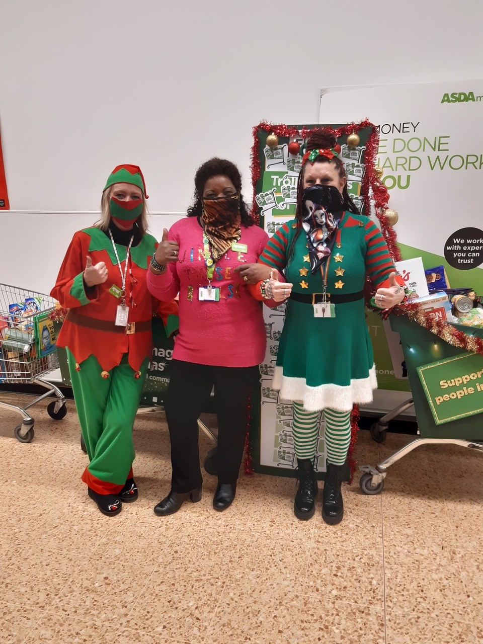 You can always rely on our amazing little Elf helpers 🥰  | Asda Norwich