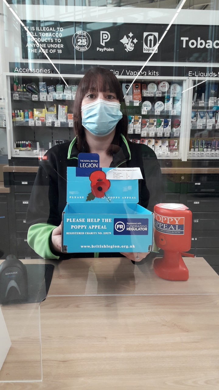 Poppy Appeal support | Asda Boston