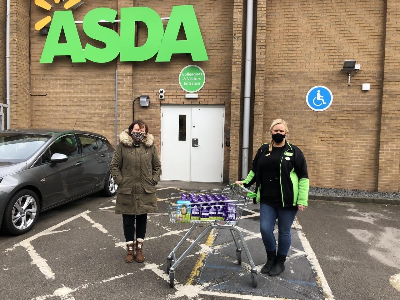 Donation to Oakwood | Asda Derby
