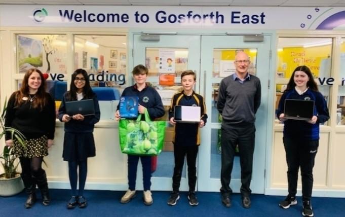 Gosforth East School receives free laptops | Asda Gosforth