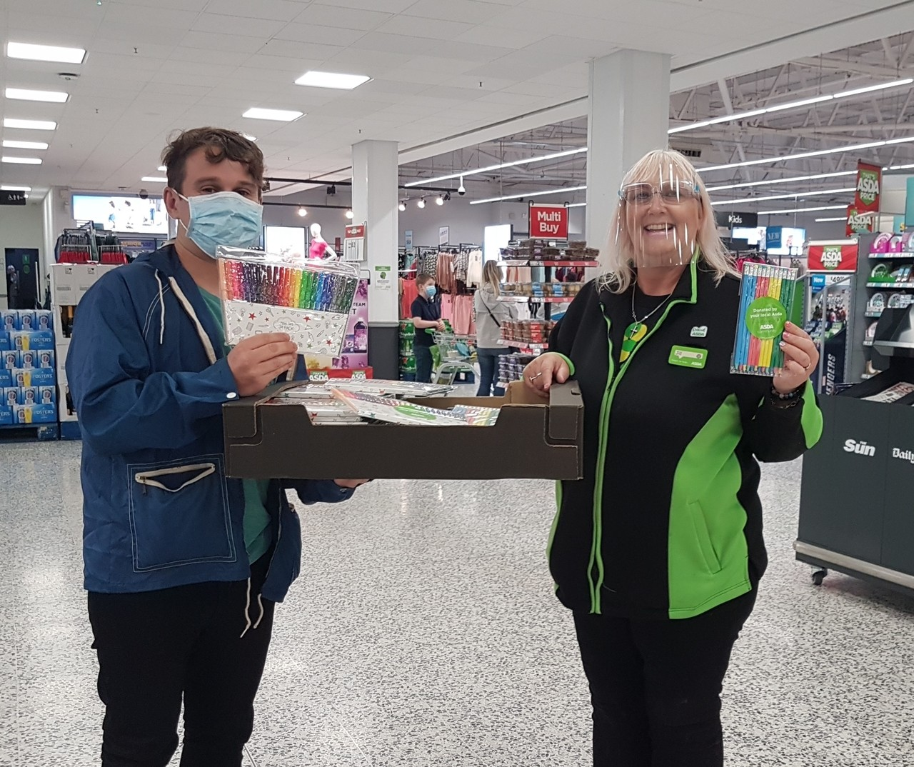 Donation to Langdon Charity | Asda Pilsworth