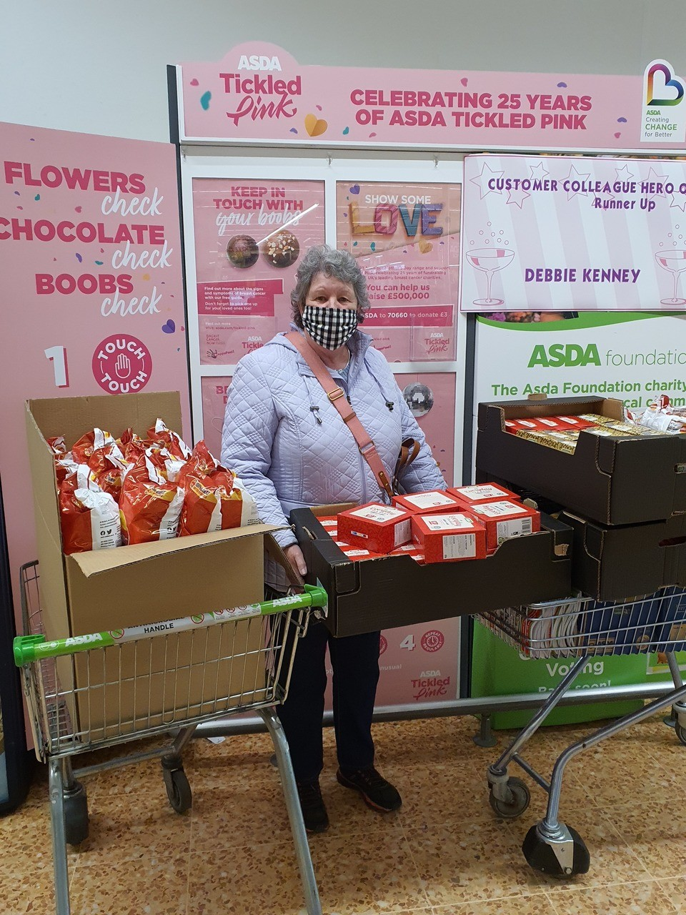 The Drop In Centre get a grant from the Asda Foundation | Asda Leicester