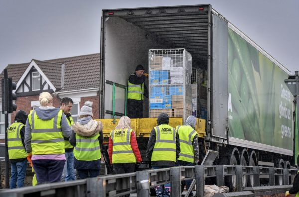 Asda colleagues helped clean up after floods in Doncaster