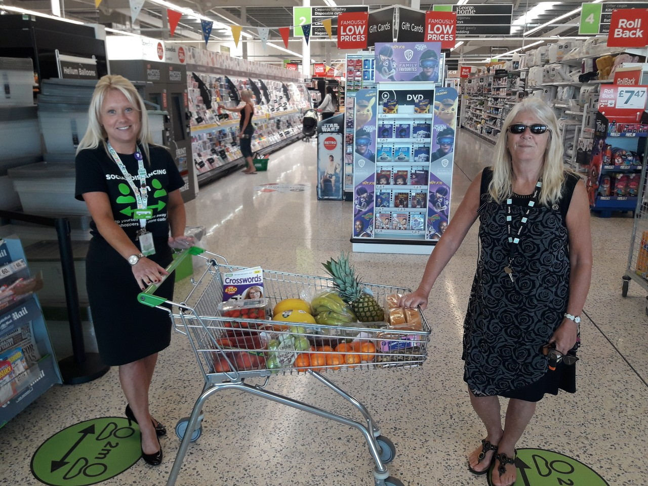 Store donation to nursing home | Asda Barry