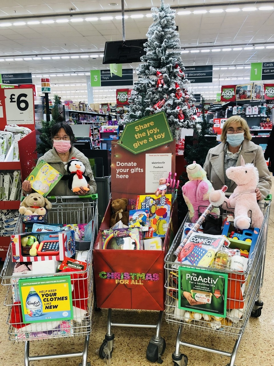 Thank you for helping families in need this Christmas | Asda Waterlooville