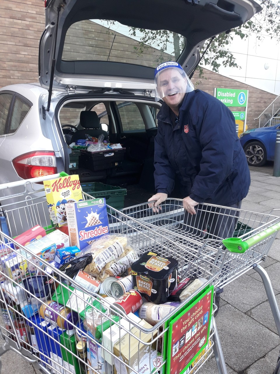 Customer donations for food bank | Asda Kingshill