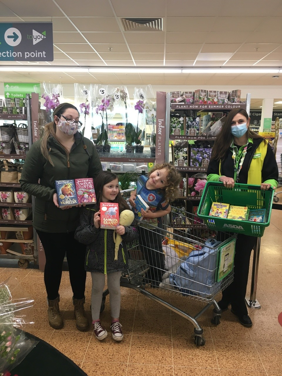 Book donation for Our Lady of Lourdes School | Asda Longwell Green