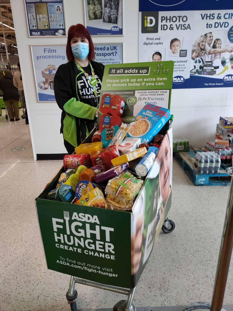 Thank you for helping fight hunger | Asda Blackwood