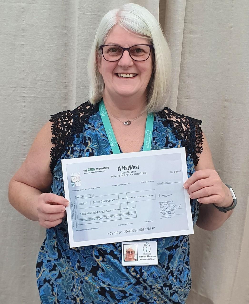 £300 donation | Asda West Swindon