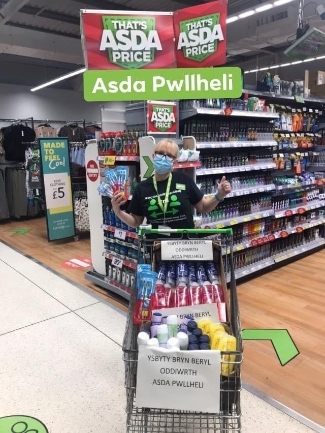 Donations | Asda Pwllheli