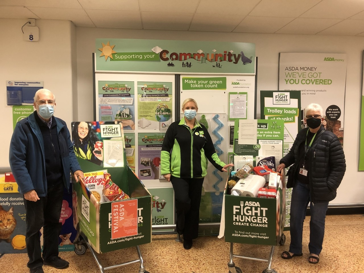 Food bank collection  | Asda Derby