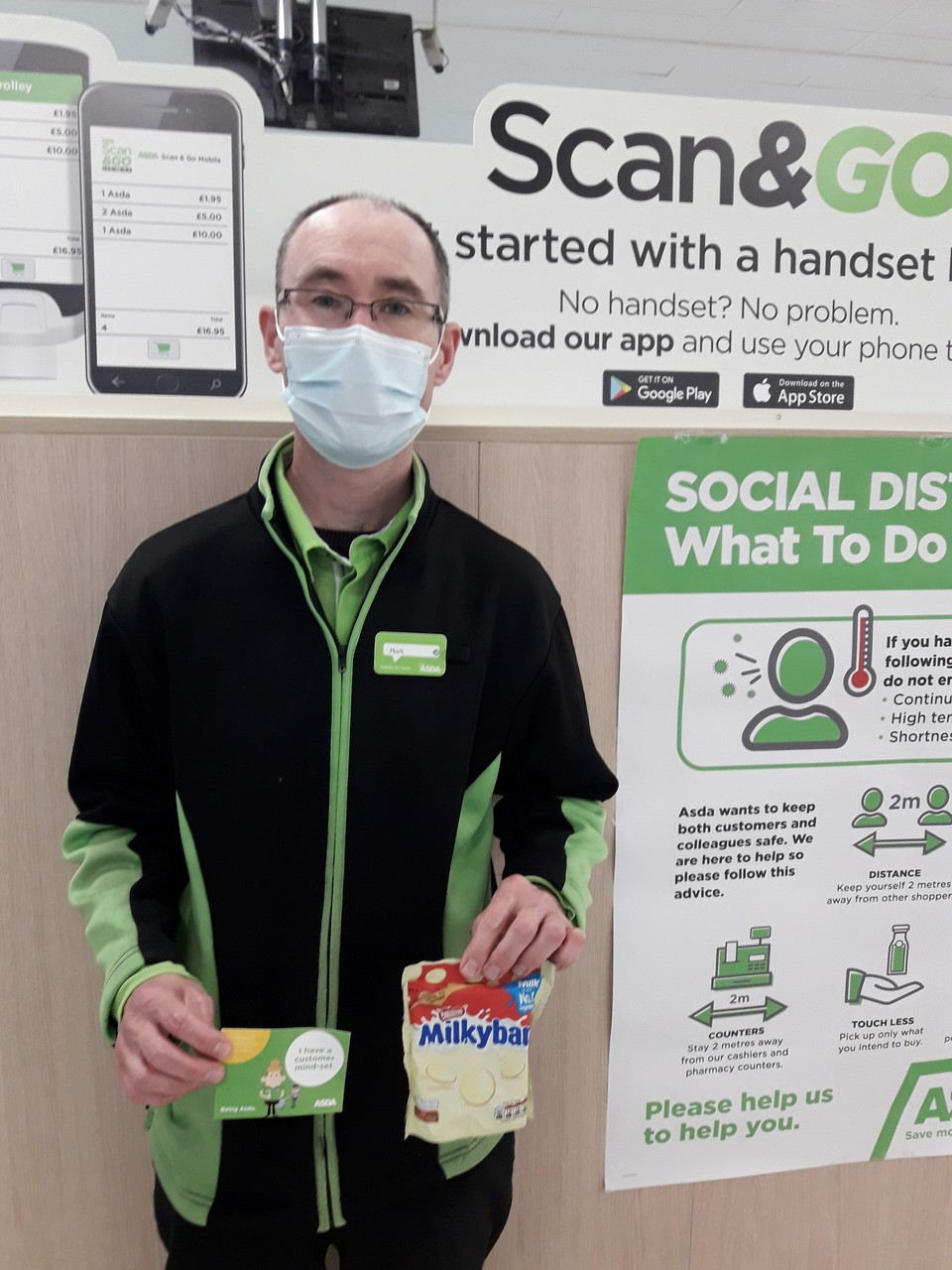 Well done to colleague Mark | Asda Gosforth