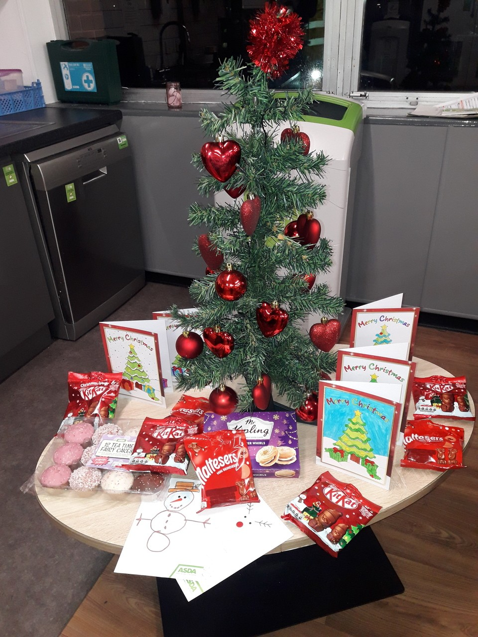 Season's Greetings to residents at local Care Home. | Asda Barrow