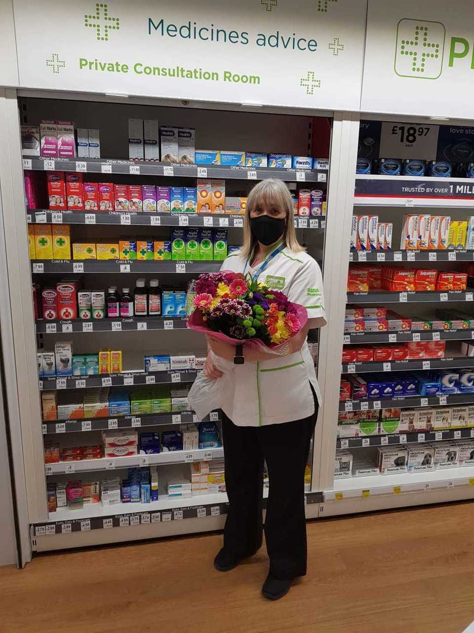 Pharmacy colleague Jane praised for quick-thinking over insect bite | Asda Trafford Park