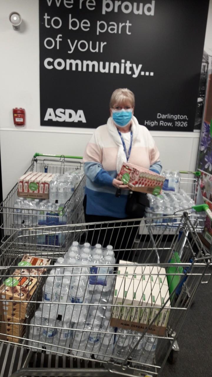 Refreshments for NHS heroes | Asda Darlington