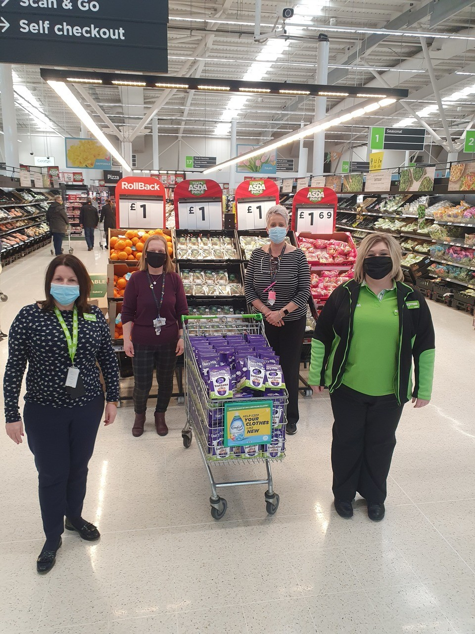 Whatriggs Early Childhood Centre donation | Asda Kilmarnock