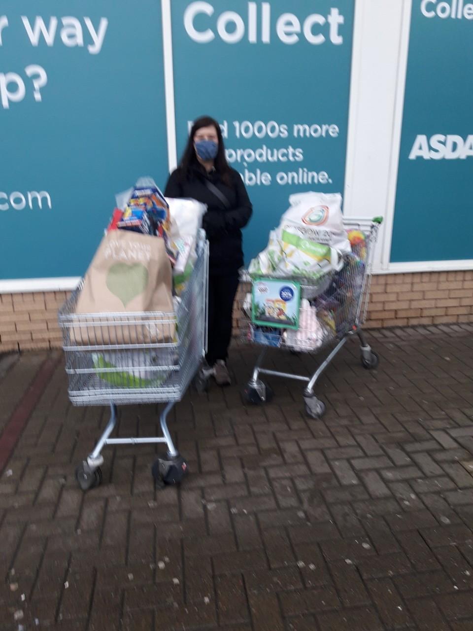 Xmas Giving | Asda Govan