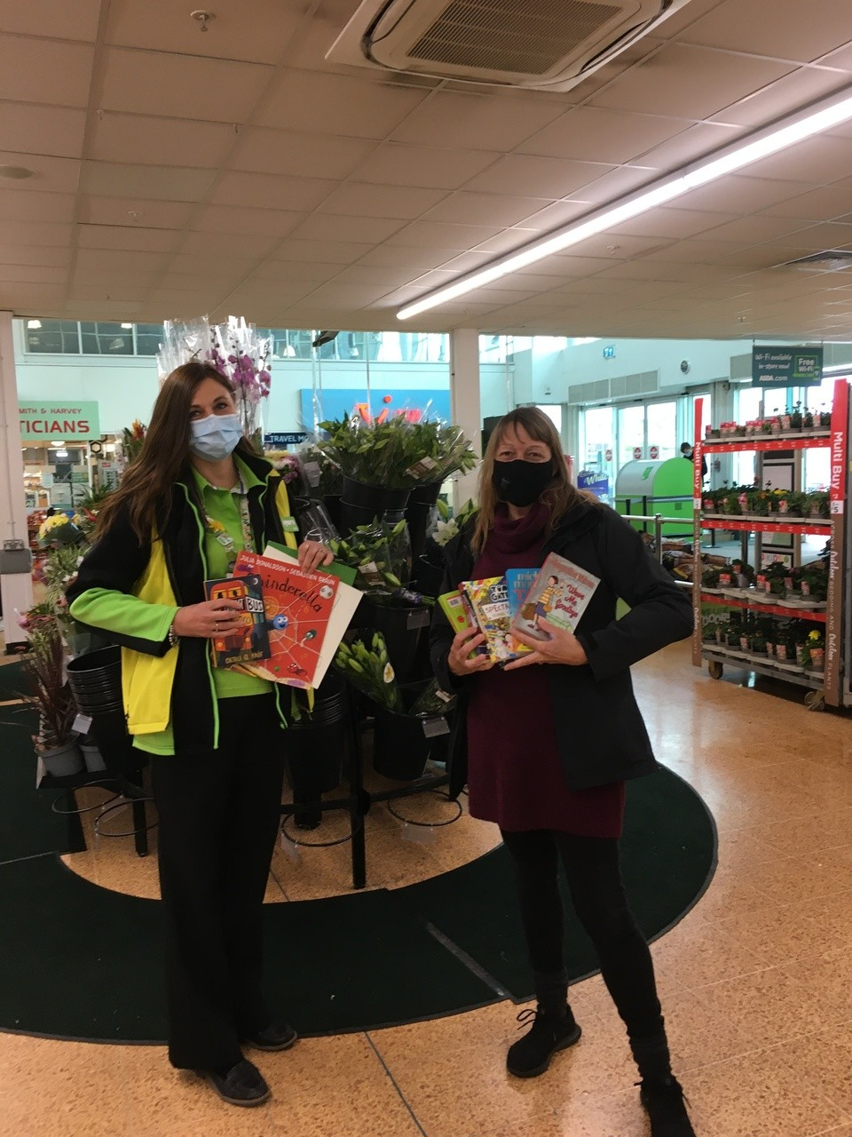 Book donations for Christ church Primary school | Asda Longwell Green
