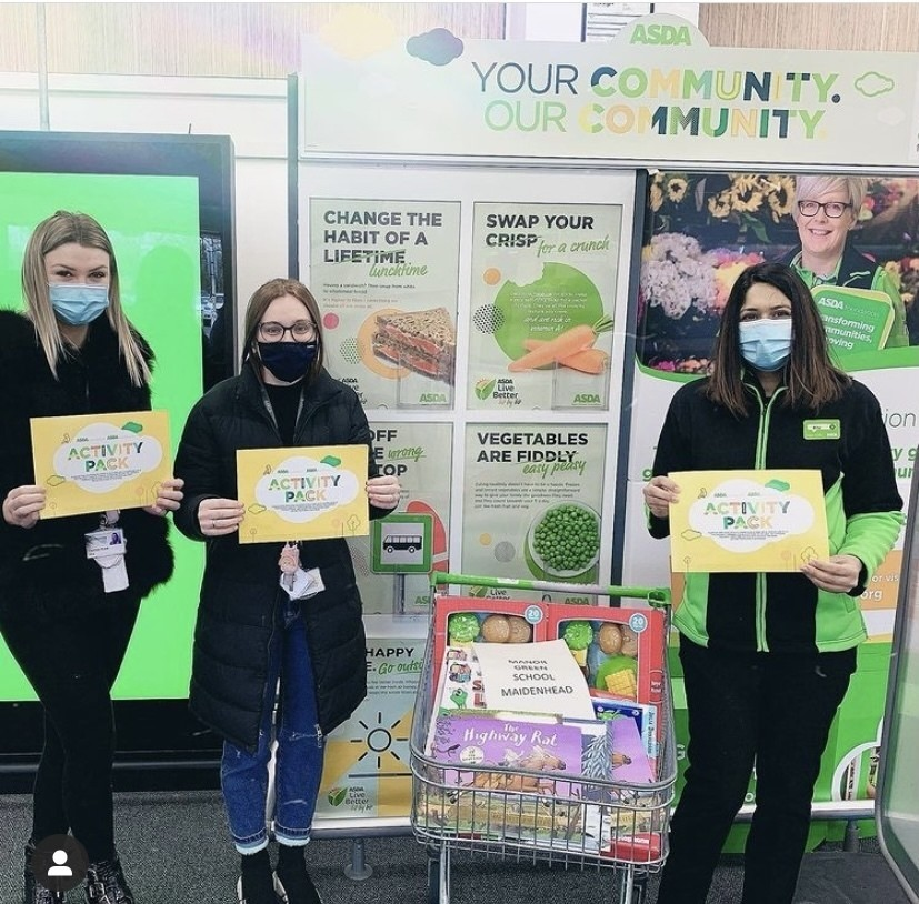 Donation for Manor School  | Asda Slough