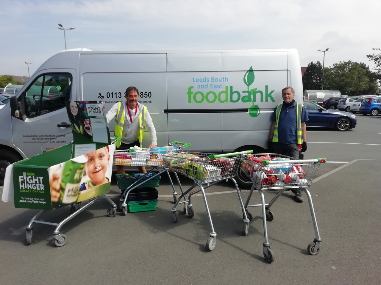 Supporting our foodbank | Asda Morley