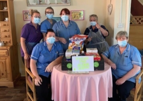 Thanks from Moorhaven Nursing Home  | Asda Shaw