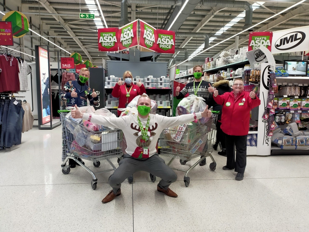 Toy appeal success   Asda Southport