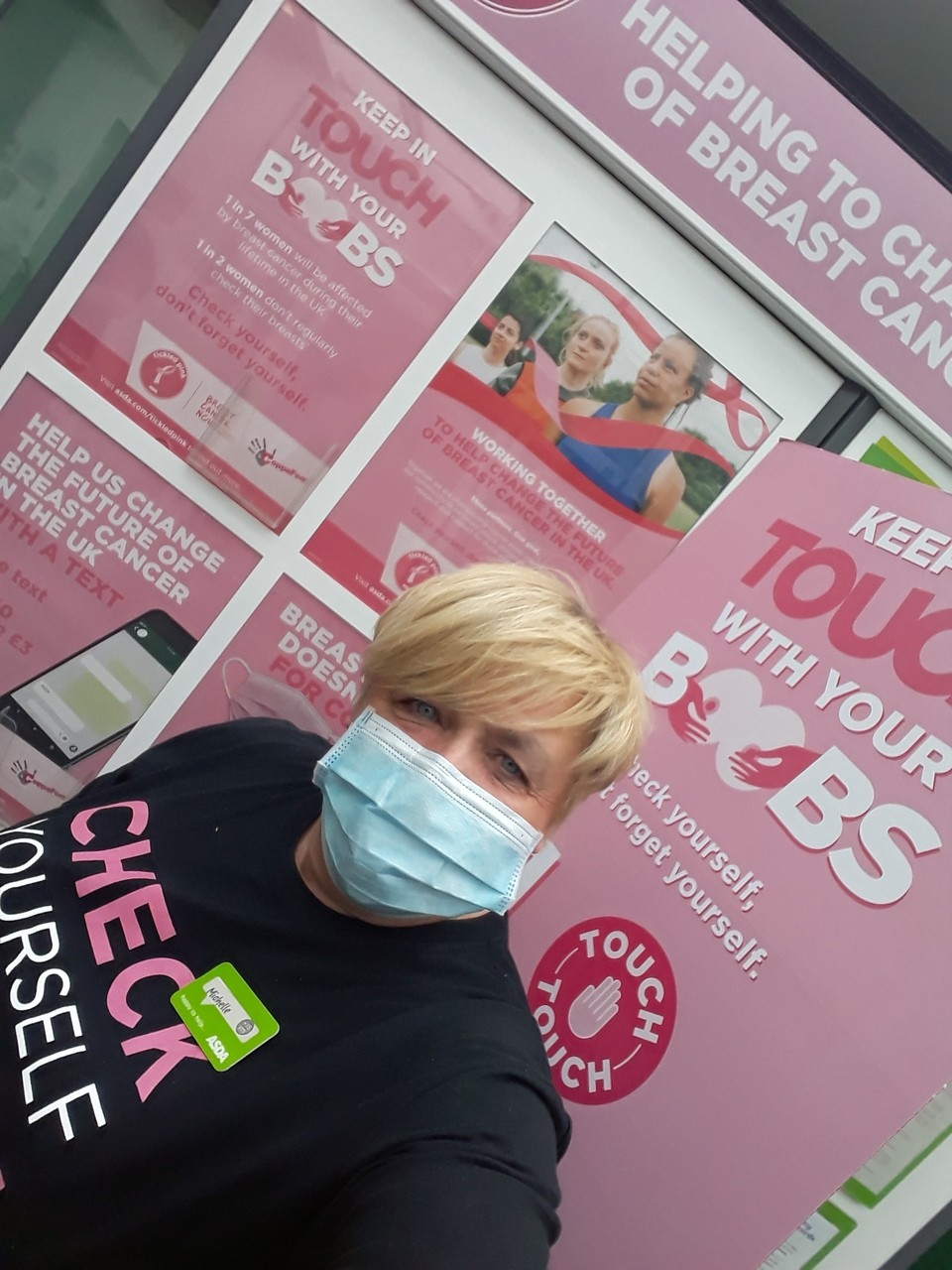 Tickled Pink support | Asda Gosforth