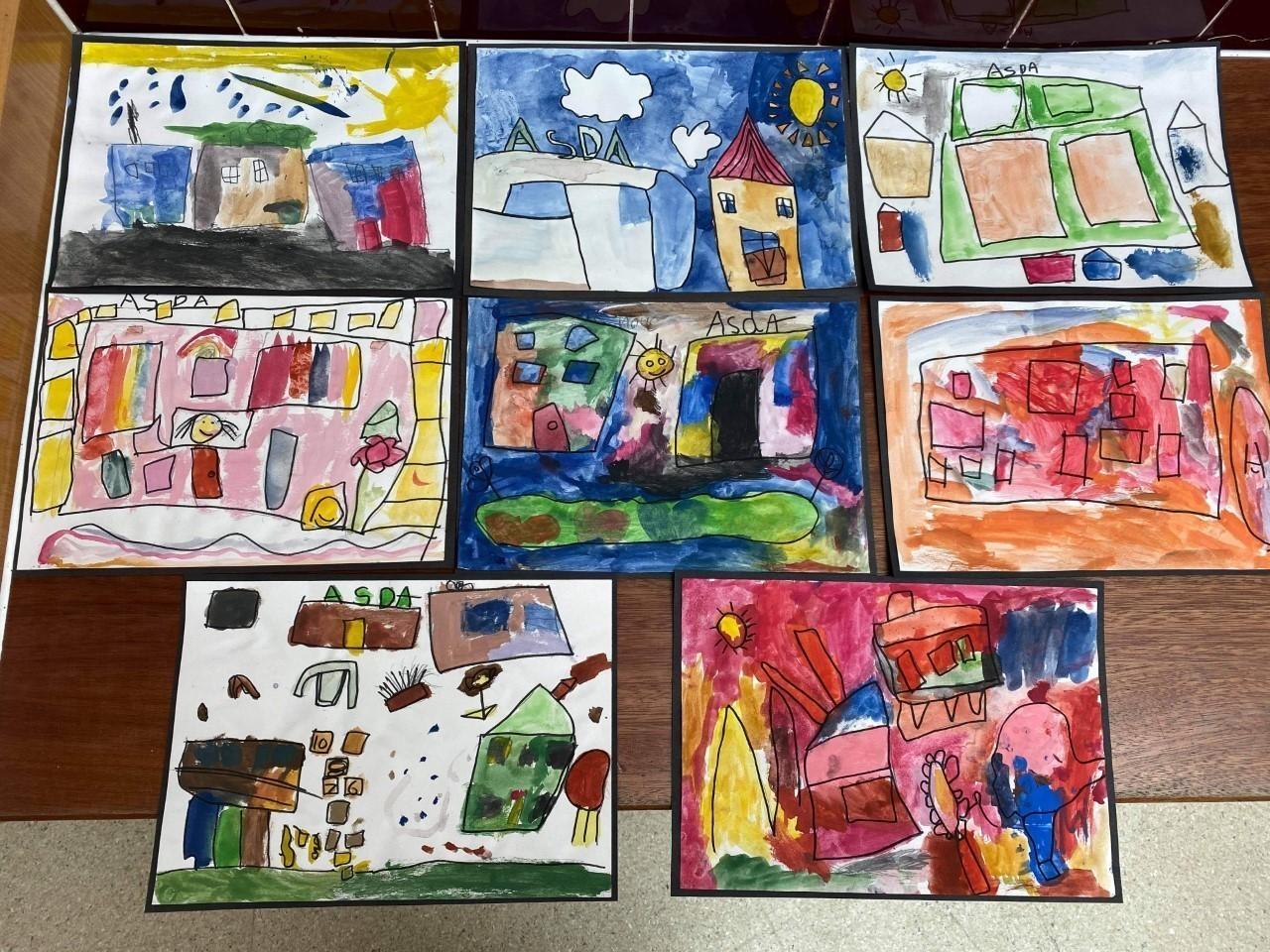 Queensferry Primary School Art Work | Asda Queensferry