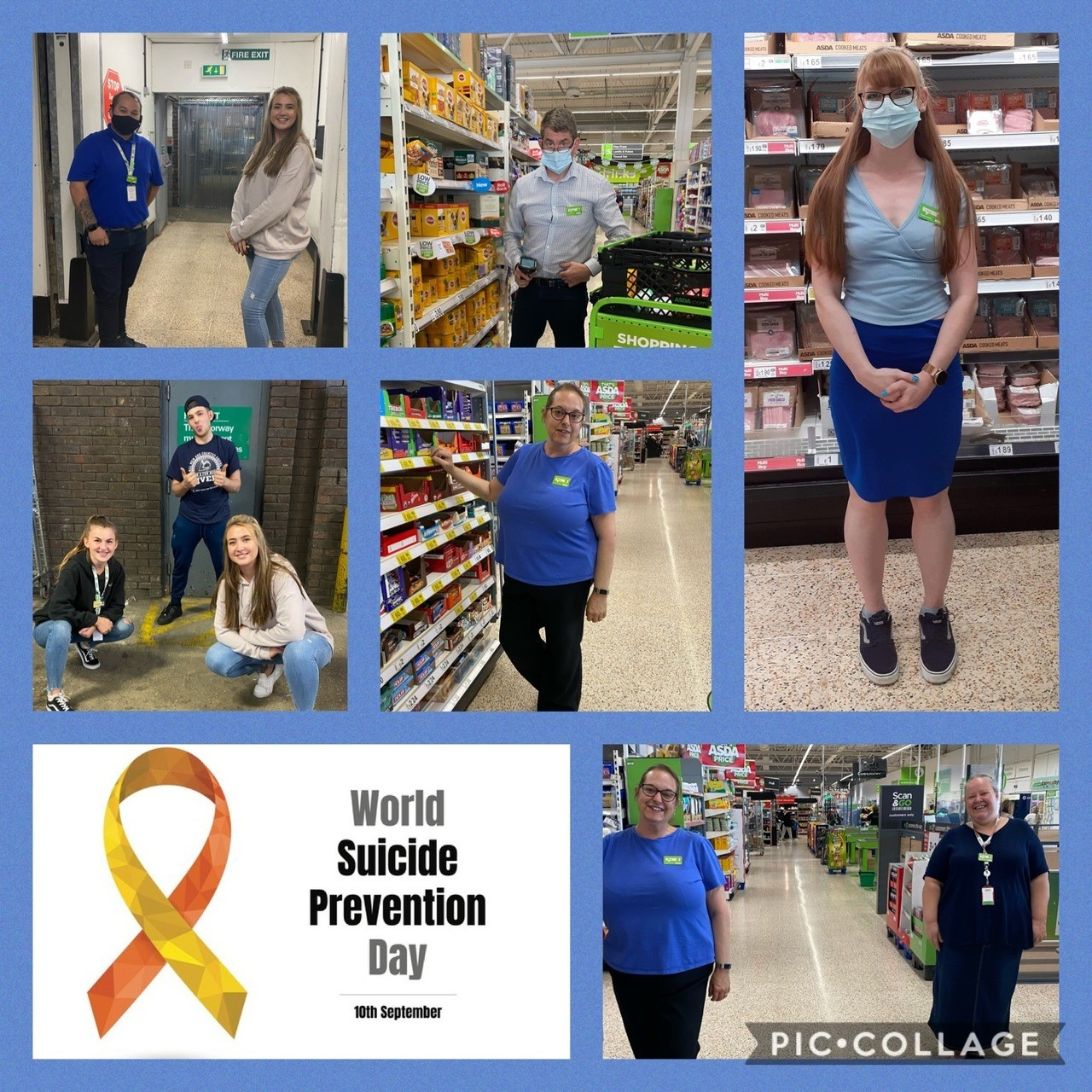 Supporting Suicide Prevention Day | Asda Gosport