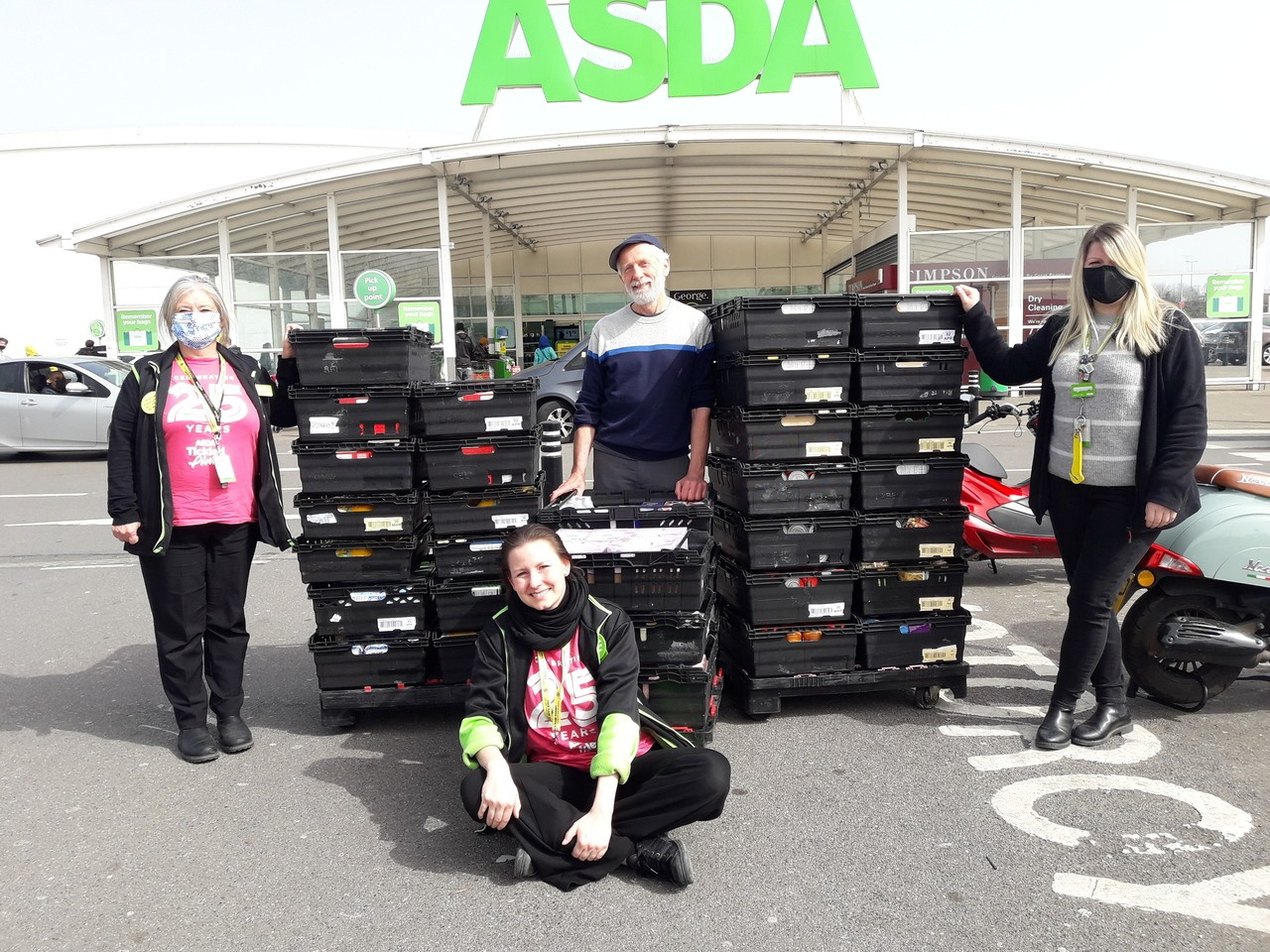 Supporting our community | Asda Leyton Mills