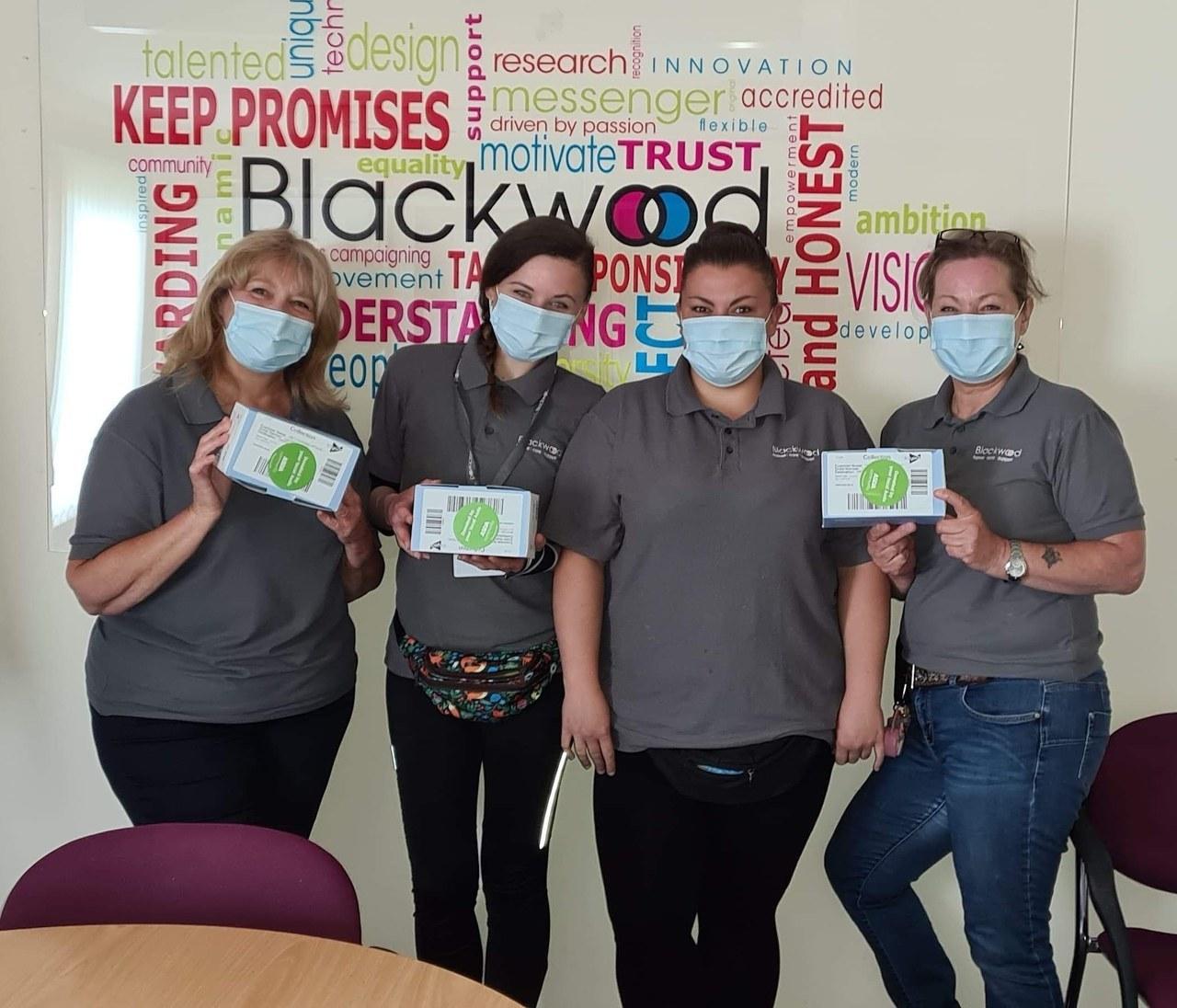 Face mask donation | Asda Falkirk