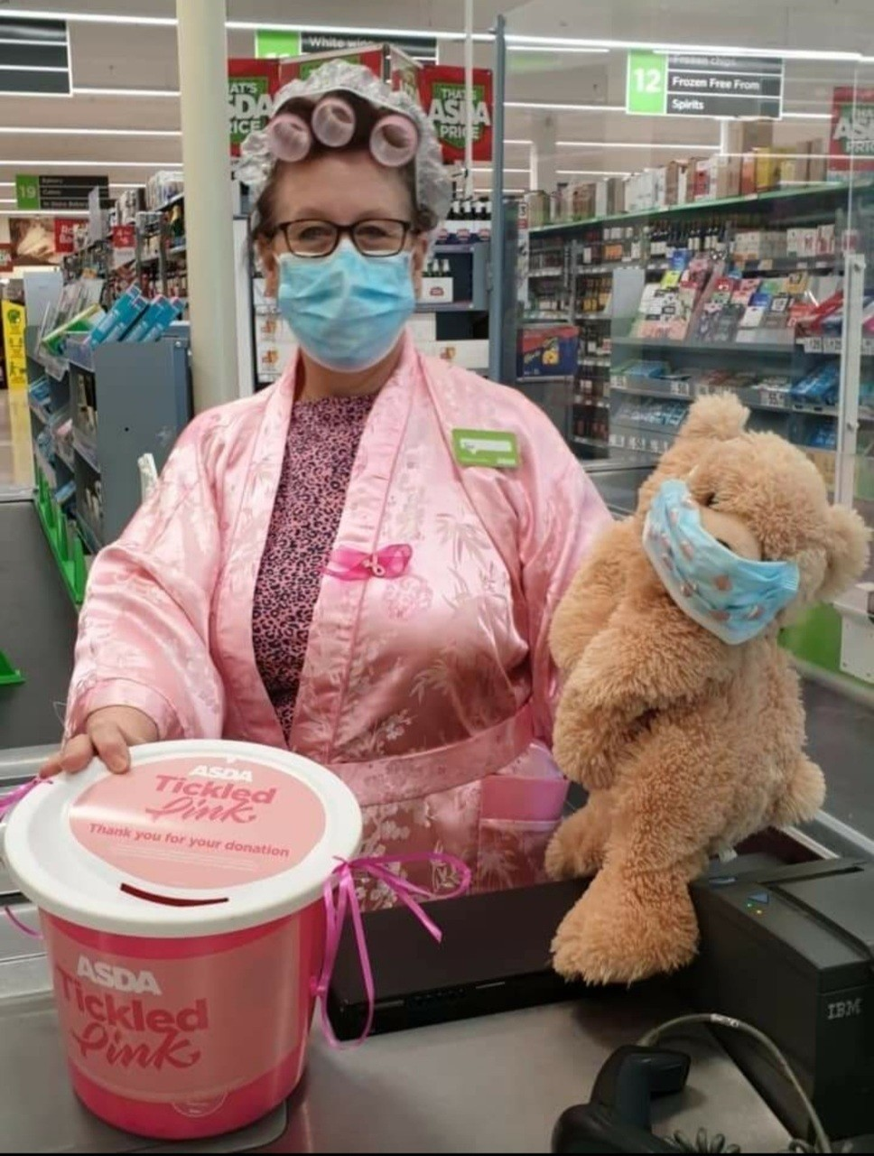 Tickled Pink Onesie weekend | Asda Sutton in Ashfield