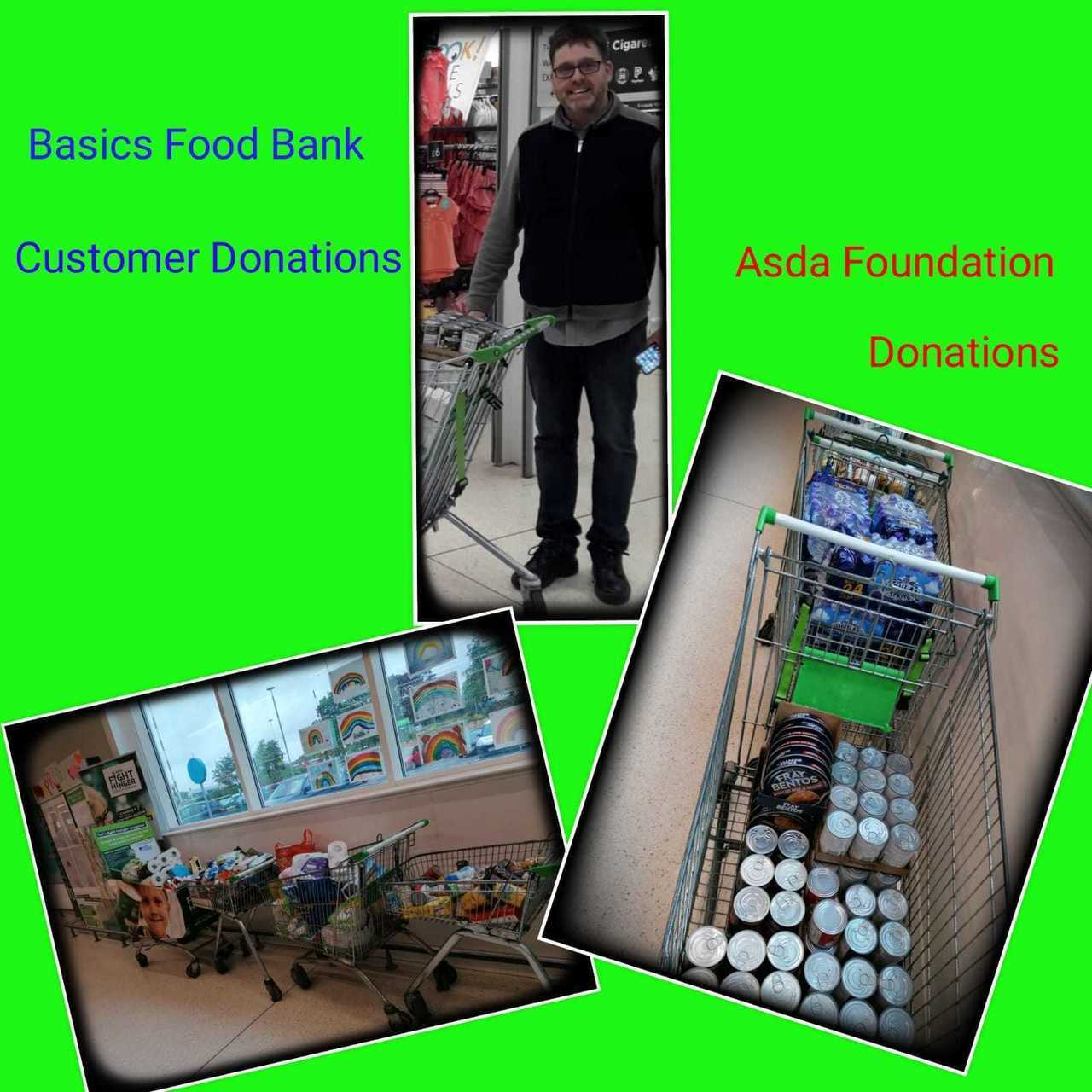 Foodbank donation  | Asda Motherwell