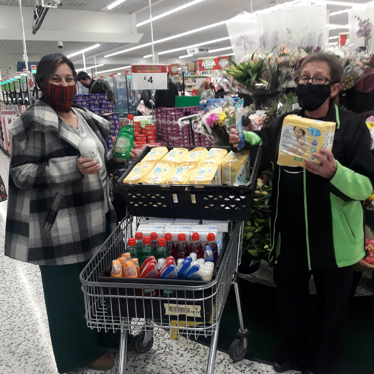 Donation to Simple Acts of Kindness  | Asda Wolverhampton