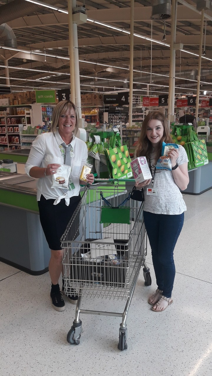 Donation of items for Crisis Coventry and Warwickshire | Asda Coventry