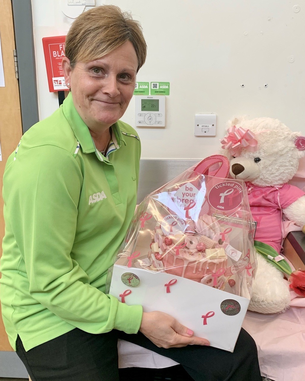 Cake raffle winner! | Asda Leicester Abbey Lane