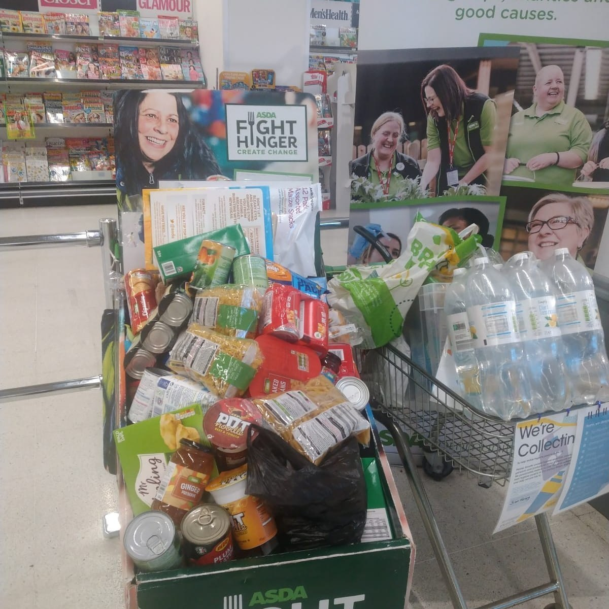 Generous customers support foodbank | Asda Watford
