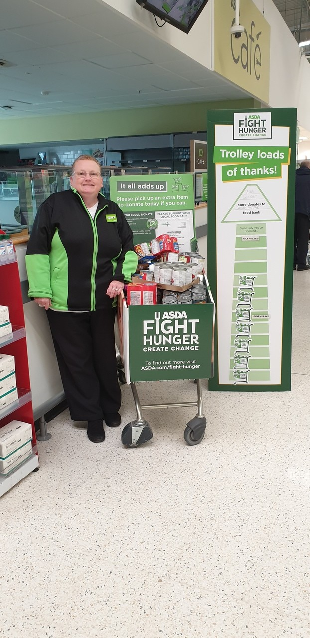 Southport Foodbank thanks | Asda Southport